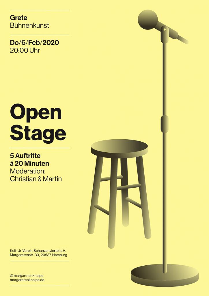 Open Stage @ Grete